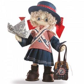 Набор для шитья куклы Бэкки, , 847.00грн., К1030, KUKLA NOVA, Наборы для шитья кукол