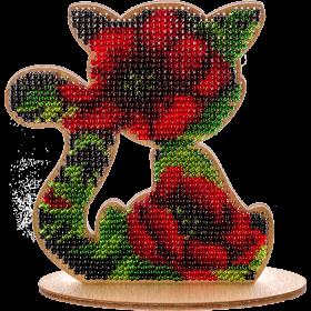 Набор для вышивания бисером по дереву, , 128.00грн., FLK-113, Волшебная страна, Животные
