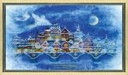 Набор для вышивки ювелирным бисером Рождественская ночь