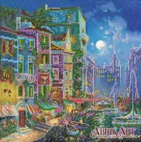 Схема для вышивки бисером Вечер в Венеции