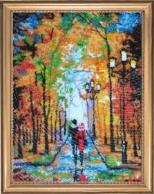Набор для вышивки бисером Романтическая прогулка (по картине О. Дарчук) Баттерфляй (Butterfly) 482Б - 454.00грн.