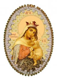 Набор для изготовления подвески Богородица Отчаянных Единая Надежда Zoosapiens РВ3202 - 128.00грн.