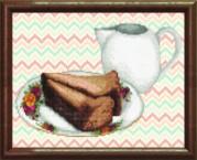 Схемы для вышивания бисером на авторской канве Завтрак