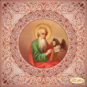 Схема вышивки бисером на атласе Святой Апостол и Евангелист Иоанн Богослов Tela Artis (Тэла Артис) ТИС-016(1) - 75.00грн.