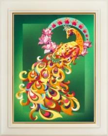 Набор для вышивки нитками (стиль Rococo) Птица счастья OLANTA R - 010 - 181.00грн.