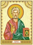 Схема для вышивки бисером на холсте Святой Матфей (Матвей)