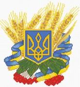 """Набор для выкладки алмазной мозаикой Герб Украины"""""""