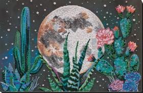 Набор для вышивки бисером Ночь в пустыне Абрис Арт АВ-733 - 553.00грн.