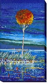 Набор для вышивки бисером Огненная лазурь 1, , 504.00грн., АВ-485, Абрис Арт, Картины из нескольких частей