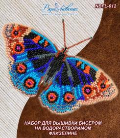Набор для вышивки бисером. Бабочка Анютины Глазки