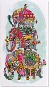 Набор для вышивки бисером Три слона на счастье Абрис Арт АВ-605 - 453.00грн.