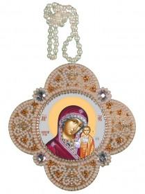 Набор для изготовления подвески Богородица Казанская