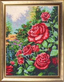 Набор для вышивки бисером Розовый сад Баттерфляй (Butterfly) 154Б - 612.00грн.