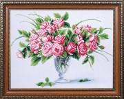 Набор для вышивки бисером Чайные розы