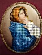 Набор для вышивки ювелирным бисером Мадонна с ребенком