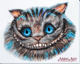 Набор для вышивки бисером на холсте Чеширский Кот