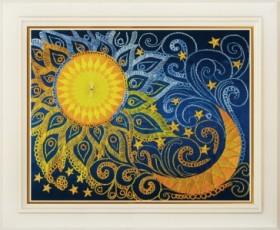 Набор для вышивки нитками (стиль Rococo) День и ночь OLANTA R - 009 - 139.00грн.
