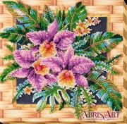 Набор-миди для вышивки бисером на натуральном художественном холсте Каттлея