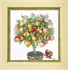 Набор для вышивки в смешанной технике Плоды Карфагена  Cristal Art ВТ-1015