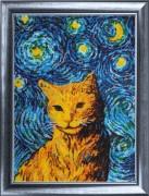 Набор вышивки бисером Звездный кот