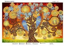 Схема для вышивания бисером Денежное дерево Юма ЮМА-3323