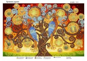Схема для вышивания бисером Денежное дерево, , 61.00грн., ЮМА-3323, Юма, Схемы и наборы для вышивки бисером по Фен шуй