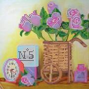 Рисунок на ткани для вышивки бисером Будуар