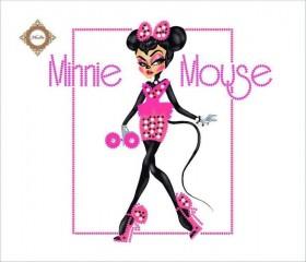 Пошитый клатч для вышивки бисером  Glamour Minnie