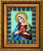 Набор для вышивки бисером Непорочное сердце Марии