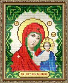 Набор для выкладки алмазной мозаикой Казанская Пресвятая Богородица Art Solo АТ6001 - 137.00грн.