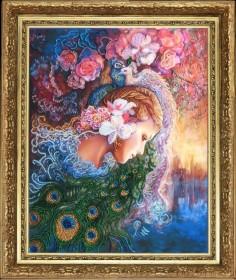 Набор для вышивки бисером Райские птицы (по картине J.Wall) Баттерфляй (Butterfly) 447Б - 265.00грн.