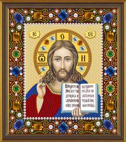 Набор для вышивки бисером Христос Спаситель, , 156.00грн., Д6024, Новая Слобода (Нова слобода), Наборы с пришивными камнями