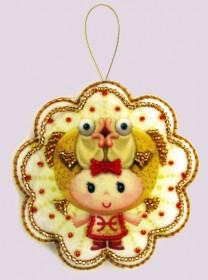 Набор для изготовления игрушки из фетра для вышивки бисером Рыбы, , 48.00грн., F132, Баттерфляй (Butterfly), Гороскоп