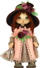 Набор для шитья куклы Девочка Англия Zoosapiens К1080Z - 525.00грн.