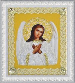 Набор для вышивки бисером Икона Ангела Хранителя (золото) ажур Картины бисером Р-372 - 210.00грн.