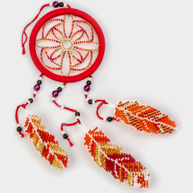 Набор для вышивания бисером на пластиковой основе Ловец снов Волшебная страна FLPL-023 - 270.00грн.