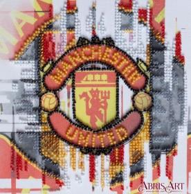 Набор-мини для вышивки бисером на натуральном художественном холсте ФК Манчестер Юнайтед Абрис Арт АМ-207 - 107.00грн.