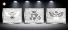 Схема для вышивки бисером на атласе Секрет Триптих Миледи СЛТ-2218