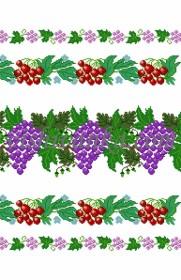 Схема для вышивки бисером на атласе Весільний рушник
