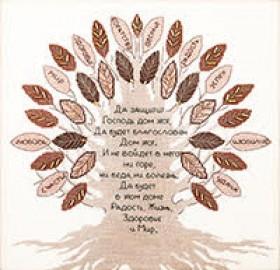 Набор для вышивки крестом Дерево благословлений Чарiвна мить (Чаривна мить) М-378 - 356.00грн.
