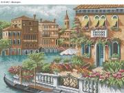 Схема для вышивки бисером на габардине Венеция