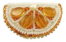 Набір для виготовлення броши Апельсин Cristal Art БП-239