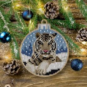 Набор для вышивки нитками по дереву FLW-012