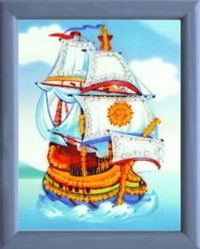 Схема для вышивки бисером Корабль Баттерфляй (Butterfly) СМ102 - 12.00грн.