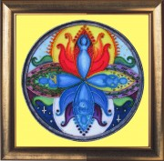 Набор для вышивки бисером Богиня Мандала