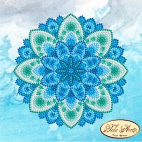 Схема вышивки бисером на атласе Мандала Лазурные волны Tela Artis (Тэла Артис) МА-001 ТА - 50.00грн.