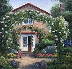 Набор для выкладки алмазной мозаикой Уютный домик