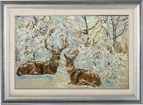 Набор для вышивки бисером Зимнее кружево Краса и творчiсть 20712 - 1 102.00грн.