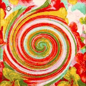 Схема-заготовка для вышивки бисером декоративной подушки В вихре цветов Миледи ПС-021 - 198.00грн.