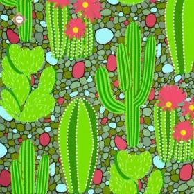 Схема-заготовка для вышивки бисером декоративной подушки Кактусовая долина Миледи ПС-022 - 198.00грн.
